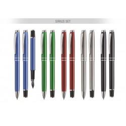Długopis i pióro SIRIUS SET