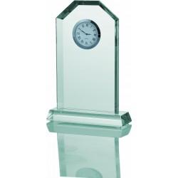 Trofeum szklane Zegar G029