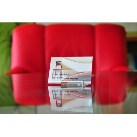 Wizytówki Plastic PVC 0,7 mm