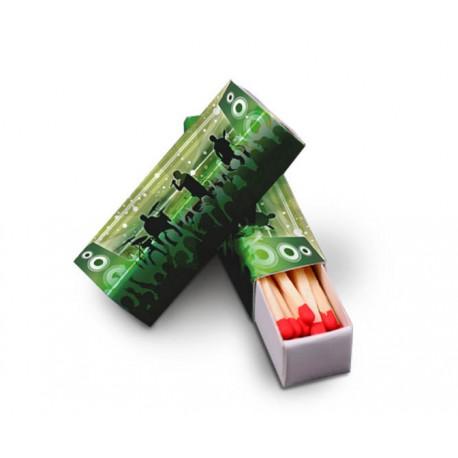 Zapałki reklamowe - pudełko GOLF