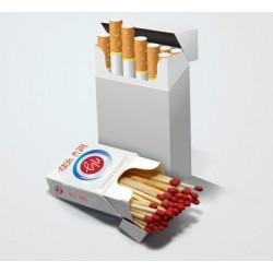 Zapałki reklamowe - pudełko CIGARETTE