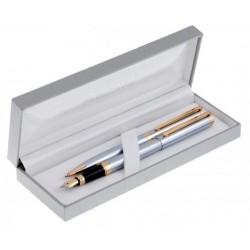 Długopis i pióro GENIUS w etui Z-1