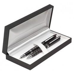 Długopis i pióro GAMMA w etui Z-1 LUX